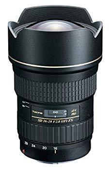 【中古】Tokina 超広角ズームレンズ AT-X 16-28 PRO FX 16-28mm F2.8 (IF) ASPHERICAL キヤノン用 フルサイズ対応
