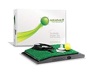【中古】OptiShot2 ゴルフシュミレーター(国内正規品/1年間保証/日本語説明書付)