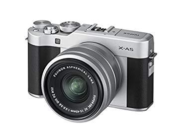 【中古】FUJIFILM ミラーレス一眼カメラ X-A5レンズキット シルバー X-A5LK-S