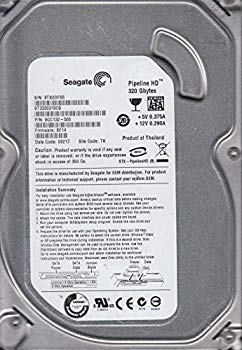 【中古】【SEAGATE】 3.5 SATA 320GB 8MB 5900RPM ST3320310CS