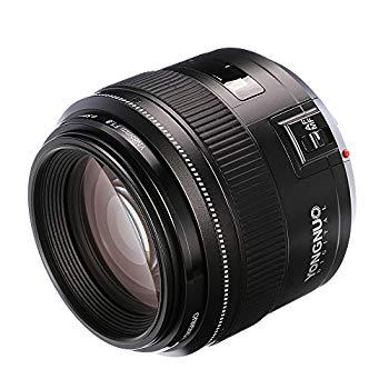 【中古】Yongnuo 85?mm f1.8?AF/MF標準Medium望遠Primeレンズ固定焦点カメラレンズfor Canon EFマウントEOSカメラ