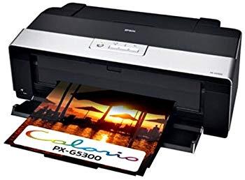 【中古】EPSON Colorio インクジェットプリンター PX-G5300 A3ノビ対応 8色高光沢顔料インク