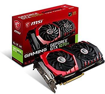 【中古】MSI GeForce GTX 1070 Ti GAMING 8G グラフィックスボード VD6490