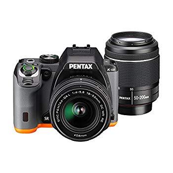 【中古】PENTAX デジタル一眼レフ PENTAX K-S2 ダブルズームキット (ブラック×オレンジ) PENTAX K-S2 WZOOMKIT (BLACK×ORANGE) 13221