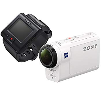 【中古】ソニー SONY ウエアラブルカメラ アクションカム 空間光学ブレ補正搭載モデル(HDR-AS300R) ライブビューリモコンキット