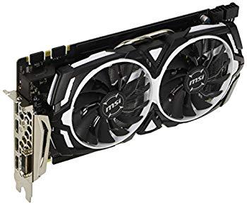 【中古】MSI GeForce GTX 1080 ARMOR 8G OC グラフィックスボード VD6193