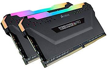 【中古】CORSAIR DDR4-4266MHz デスクトップPC用 メモリモジュール VENGEANCE RGB PRO シリーズ 16GB [8GB×2枚] CMW16GX4M2K4266C19