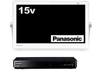 【中古】パナソニック 15V型 液晶 テレビ プライベート・ビエラ UN-15TD8-W 2018年モデル