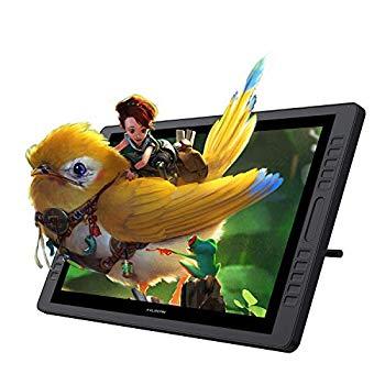 【中古】HUION GT-221Pro 液晶タブレット 21.5インチ 8192筆圧感度 1920x1080解像度 フルHD 液晶ペンタブレット PE330ペン 付き ブラック