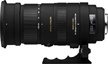 【中古】SIGMA 超望遠ズームレンズ APO 50-500mm F4.5-6.3 DG OS HSM キヤノン用 フルサイズ対応 738549