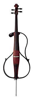 【中古】ヤマハ YAMAHA サイレントチェロ SVC110S アコースティックチェロの演奏感とサイレントシリーズならではの静粛性 3段階のリバーブ機能 カーボン