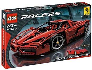 【中古】レゴ (LEGO) レーサー エンツオ・フェラーリ 1/10 8653