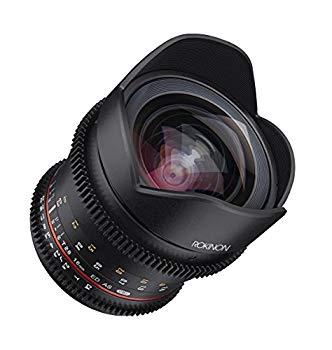 【中古】Rokinon 16???16?mm f / 2.6???22?Prime固定t2.6フルフレームCine Wide Angle Lens for Sony e-mount、ブラック(ffds16?m-nex)