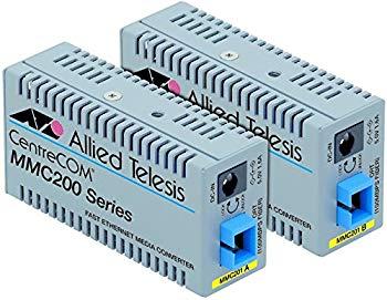 【中古】アライドテレシス CentreCOM MMC201B-Z1 メディアコンバーター 0021RZ1