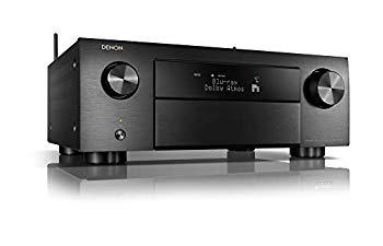 【中古】DENON AVサラウンドレシーバー 9.2ch Dolby Atmos/DTS:X/Auro-3D/Airplay2/IMAX Enhanced対応 ブラック AVR-X4500H-K