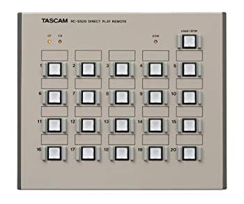 【中古】TASCAM ダイレクトプレイリモートコントローラー RC-SS20