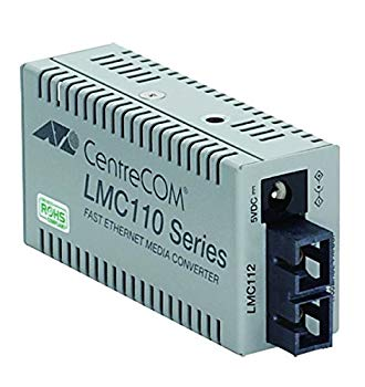 【中古】アライドテレシス CentreCOM LMC112-Z5 メディアコンバーター 0416RZ5