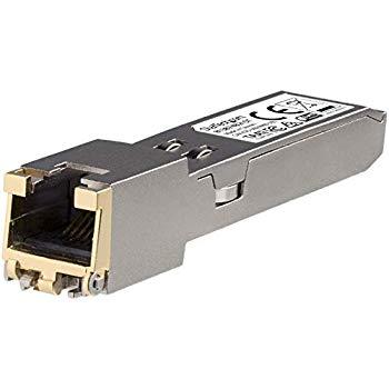 【中古】StarTech.com SFP+モジュール HP製813874-B21互換 10GBASE-T準拠RJ45銅線トランシーバ 813874B21ST