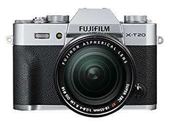 【中古】FUJIFILM ミラーレス一眼カメラ X-T20 レンズキットシルバー X-T20LK-S