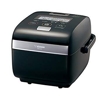 【中古】象印 炊飯器 5.5合 圧力IH式 炎舞炊き プライムブラック NW-KA10AM-BZ