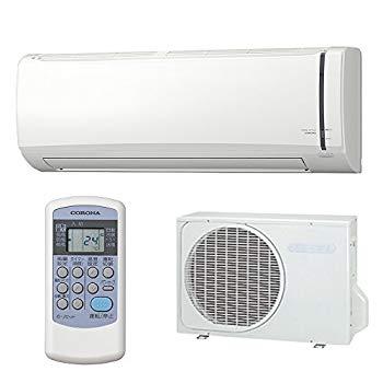 【中古】コロナ 【エアコン】冷房専用おもに14畳用 冷房専用シリーズ ホワイト RC-V4018R-W