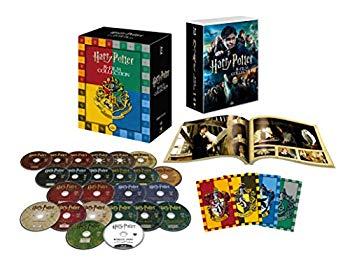 中古 早割クーポン ハリー ポッター コンプリート 8-Film BOX 配送員設置送料無料 バック Blu-ray トゥ 初回限定生産 ホグワーツ仕様 ブルーレイ 24枚組