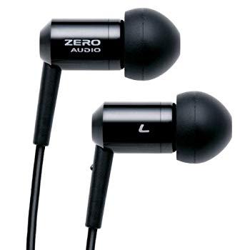 <title>中古 買物 ZERO AUDIO インナーイヤーステレオヘッドホン ブラック ZH-BX500-BK</title>