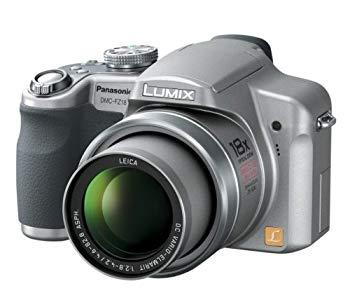 【中古】パナソニック デジタルカメラ LUMIX (ルミックス) シルバー DMC-FZ18-S