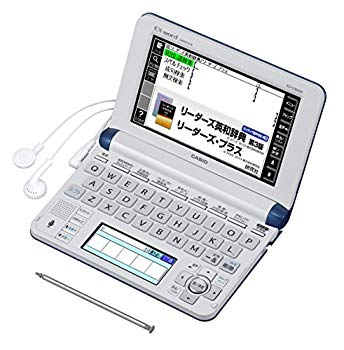 【中古】カシオ 電子辞書 エクスワード ビジネスモデル XD-U8600NB ネイビーブルー