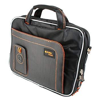 【中古】DURAGADGETブラックラップトップバッグショルダーストラップケースfor Acer TravelMate b113、TravelMate x313