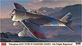 【中古】ハセガワ 1/48 日本陸軍 中島 キ27 九七式戦闘機 飛行第4戦隊 プラモデル 07451