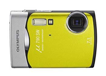 【中古】OLYMPUS 防水デジタルカメラ μ790SW (ミュー) リーフグリーン μ790SWGRN