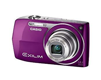 【中古】CASIO デジタルカメラ EXILIM Z2300 パープル EX-Z2300PE