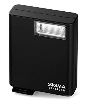 【中古】SIGMA フラッシュ ELECTORONIC FLASH EF-140 DG シグマ用 ガイドナンバー14 EF-140 DG