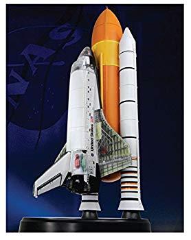 【中古】スペースドラゴンウイングス 1/144 スペースシャトル・アトランティス w/ロケットブースター (内部再現) 塗装済み半完成組み立てキット DRW4740