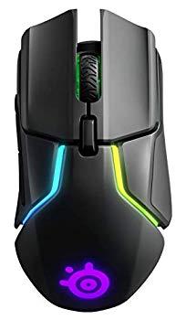 【中古】【 国内正規品 】ゲーミング マウス SteelSeries Rival 650 Wireless デュアルセンサー 重量・重心カスタマイズ機能 32ビットARM プロセッサー搭