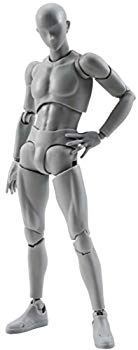【中古】S.H.フィギュアーツ ボディくん DX SET(Gray Color Ver.) 約150mm ABS&PVC製 可動フィギュア