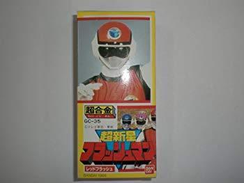 【中古】超新星 フラッシュマン レッドフラッシュ 超合金 GC-35 東映 テレビ朝日 BANDAI バンダイ