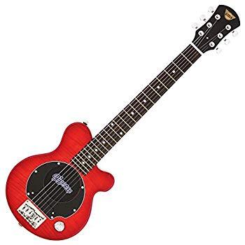 【中古】Pignose ピグノーズ エレキギター フレイムメイプルTOP ソフトケース付属 PGG-200FM
