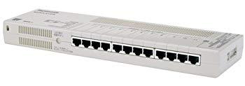 【中古】パナソニックESネットワークス タップ型 12ポートL2スイッチングハブ(Giga対応) Switch-S12iG PN24120G
