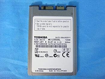 【中古】TOSHIBA MK1235GSL 120GB HDD1.8 M-SATA
