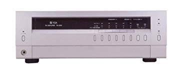 【中古】TOA 卓上型アンプ 120W 3U 5局スピーカーセレクター付 非常時電源断機能・電話ページング機能内蔵 TA-2120