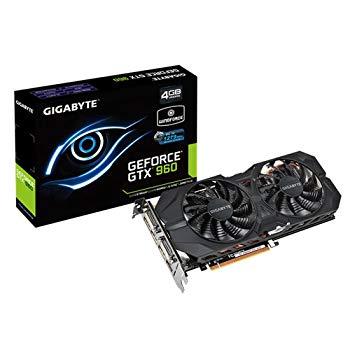 【中古】Gigabyte GV-N960WF2OC-4GD NVIDIA GeForce GTX 960 4GB