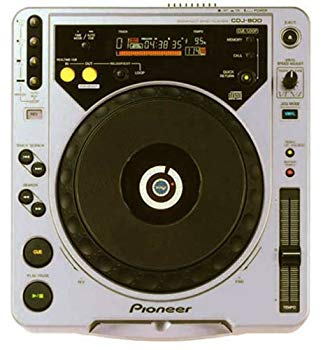 【中古】Pioneer デジタルターンテーブルCDプレーヤー シルバー CDJ-800