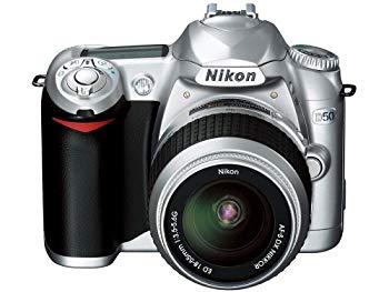 【中古】Nikon D50 シルバー デジタル一眼レフカメラ レンズキット〔AF-S DX ズームニッコール ED 18~55mm F3.5~5.6G〕