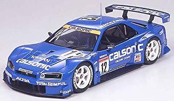 【中古】タミヤ 1/24 マスターワークコレクション No.22 カルソニック スカイライン GT-R2003 塗装済み完成モデル 21022 完成品