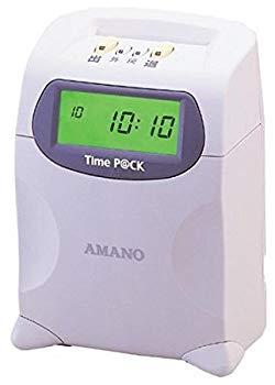 【中古】アマノ パソコン接続式タイムレコーダーTimeP@CK Professional ProP@CK