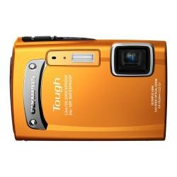 【中古】OLYMPUS 防水デジタルカメラ TOUGH TG-310 オレンジ 3m防水 1.5m耐落下衝撃 -10℃耐低温 1400万画素 3.6倍光学ズーム 2.7型液晶 TG-310 ORG
