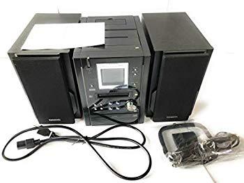 【中古】Panasonic パナソニック SC-PM37MD-K ブラック ミニコンポ (CD/MDコンポ)(本体SA-PM37MDとスピーカーSB-PM37のセット)