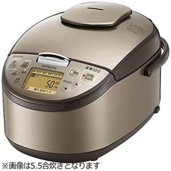 【中古】日立 圧力IH炊飯ジャー(1升炊き) ライトブラウンHITACHI 極上炊き分け RZ-AG18M-T